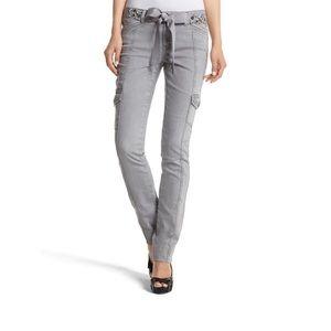WHBM Blanc Cargo Jean
